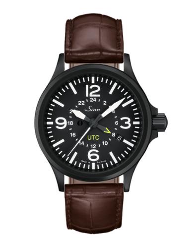 Sinn - 856 S UTC - Brown Leather Strap options - 856.020