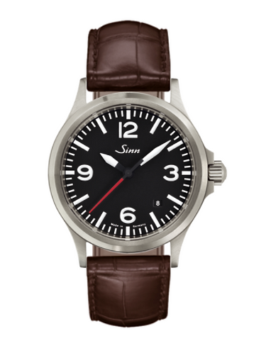 Sinn - 556 A RS - Brown Leather Strap options - 556.0141