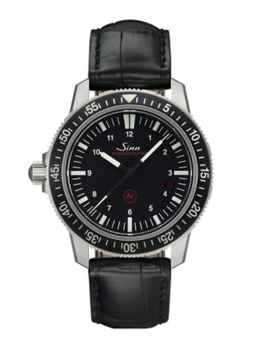 Sinn - EZM 3 - Black Leather Strap options - 603.010