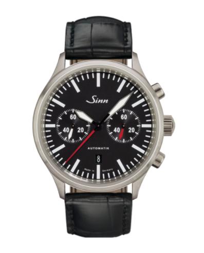 Sinn - 936  - Black Leather Strap options - 936.010