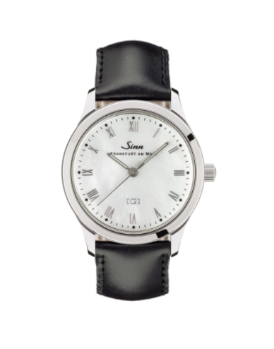 Sinn - 434 St Mother of Pearl W - Leather Starp Options - 434.011