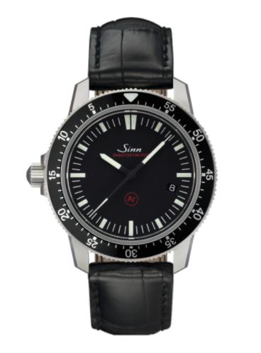Sinn - EZM 3F - Black Leather Strap options - 703.010