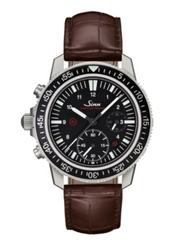 Sinn - EZM 13 - Brown Leather Strap options - 613.010