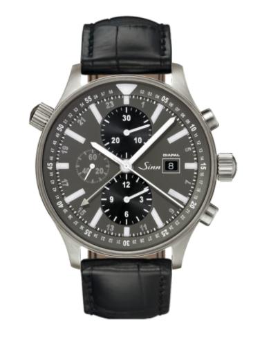 Sinn - 900 DIAPAL - Black Leather Strap options -900.013