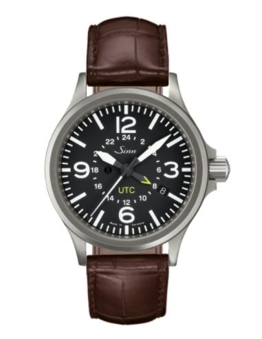 Sinn - 856 UTC - Brown Leather Strap options - 856.010