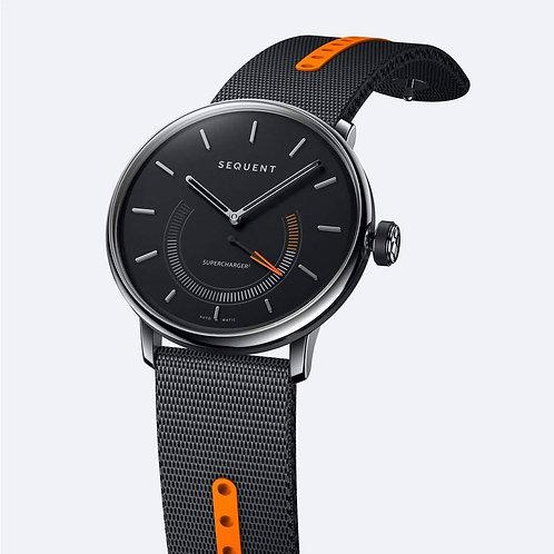 Sequent Supercharger Premium Black Orange