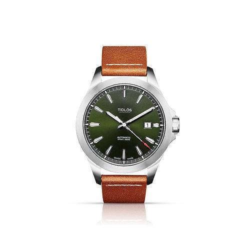 Tidlos Stil 42mm Green Dial