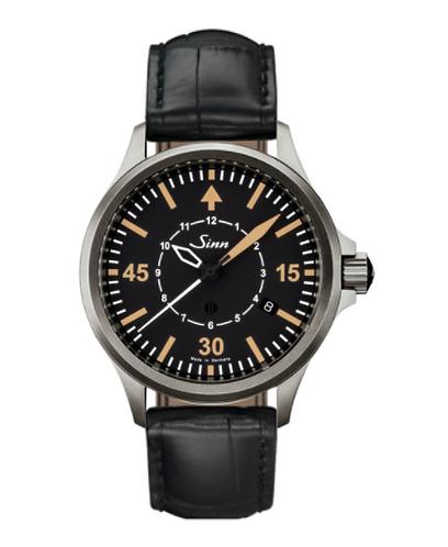 Sinn - 856 B-Uhr - Black Leather Strap Options - 856.012