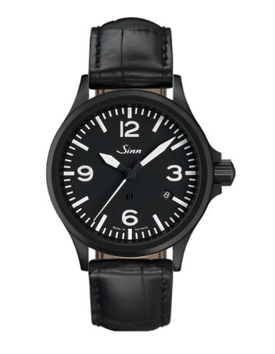 Sinn - 856 S  - Black Leather Strap options - 856.023