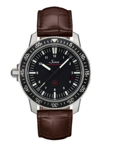 Sinn - EZM 3 - Brown Leather Strap options - 603.010