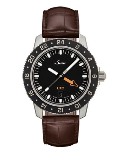 Sinn - 105 St Sa UTC - Brown Leather Strap options - 105.020