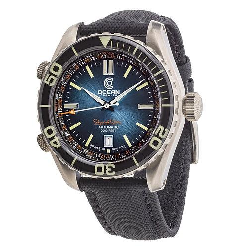 Ocean Crawler Ocean Navigator 45 blue dial divers watch
