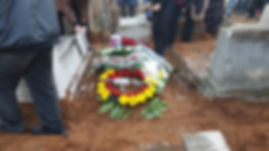 טקס הלווייתו של המשורר יוסי גמזו- צילום יאיר בן־חיים