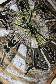 התערוכה - שאון של חול מתקתק בשקט - אמנית: נורית צדרבוים