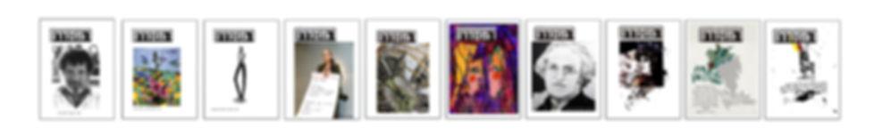 עשרת שערי הגיליונות של כתב-העת 'המסדרון'
