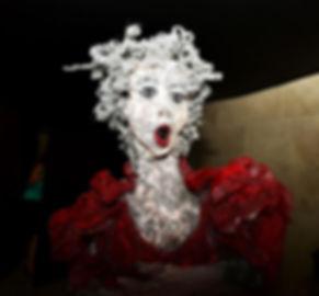 חנה הירשמן כהן - מתוך תערוכת היחיד - מוסיקה ברשת | אתר חדרים