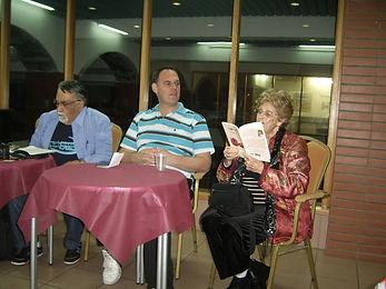 עדה אהרוני - ערב משוררים לימין ישראל | אתר חדרים