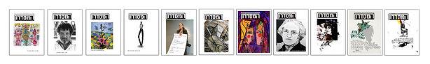 אחד עשר גיליונות כתב-העת 'המסדרון'.jpg