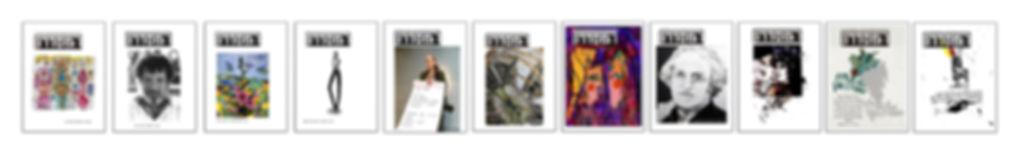 אחד עשר שערי הגיליונות של כתב-העת 'המסדרון'