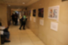 """תערוכת 'עוּרִי שְׂפַת עֵבֶר' ציורים ואיורים בהשראת שירים מתוך האנתולוגיה שאוירו ע""""י חברי אגודת המאיירים בישראל"""