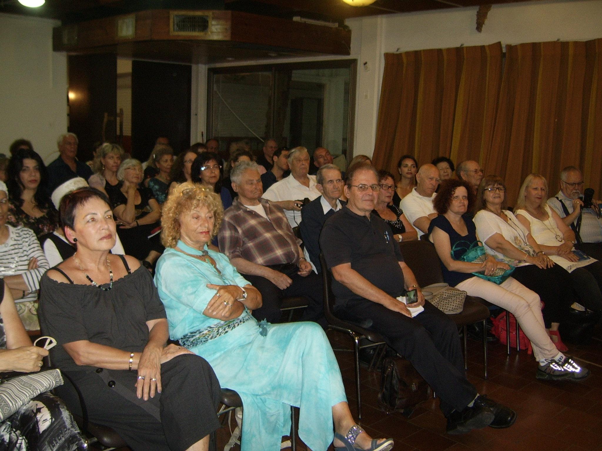 קהל המוזמנים