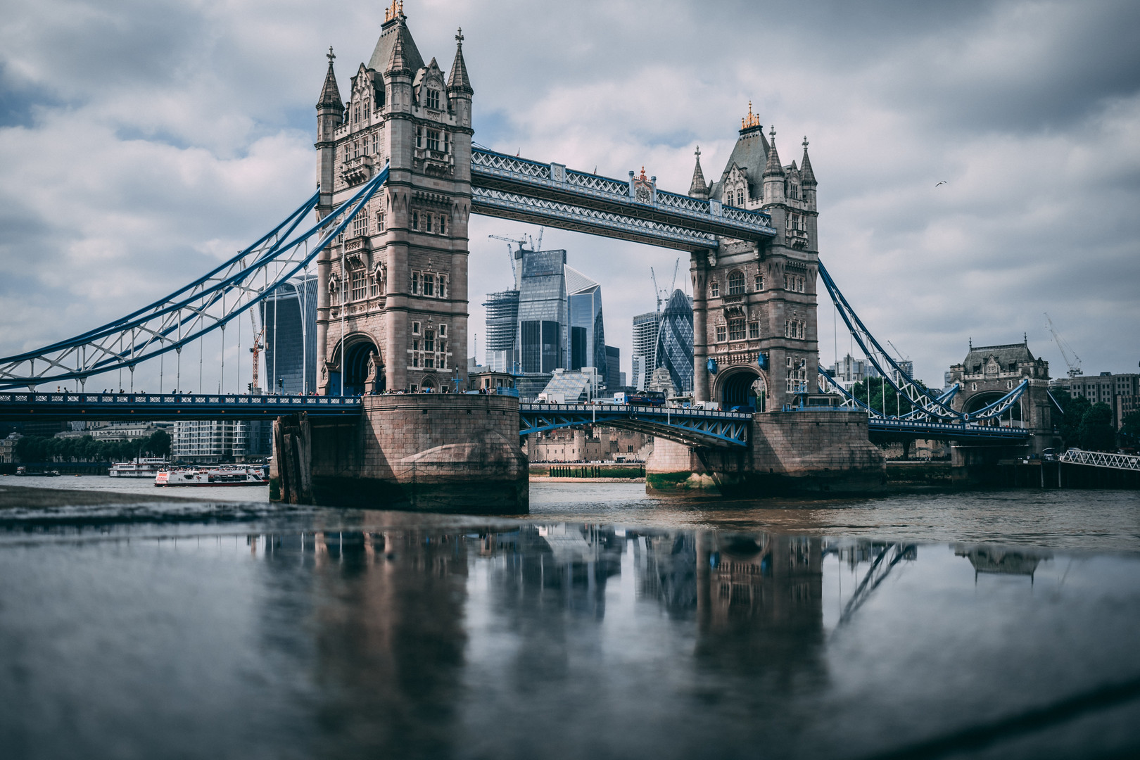Tower Bridge. London, England