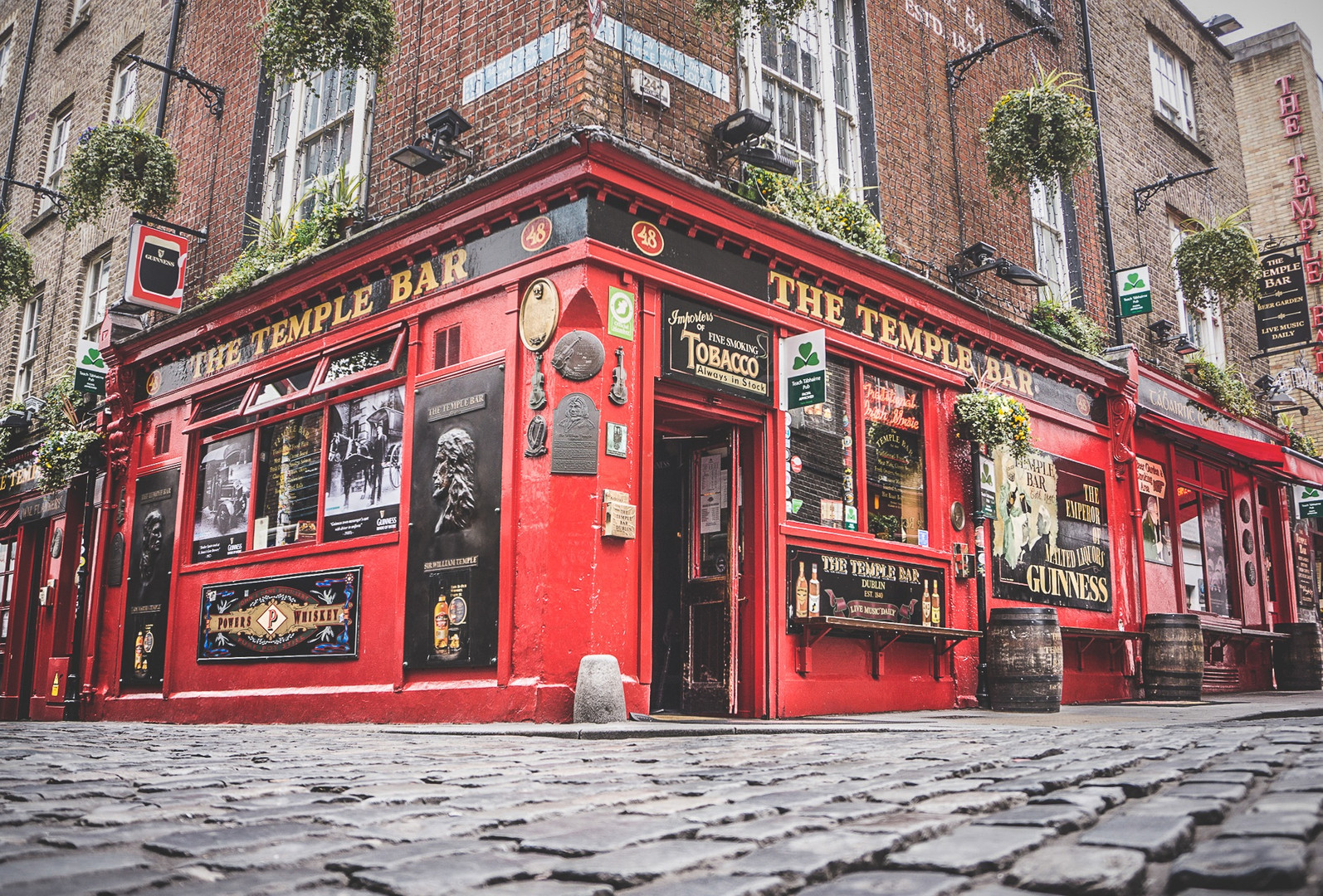 The Temple Bar. Dublin, Ireland