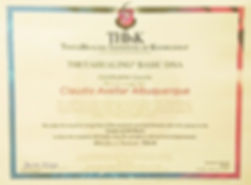 Diploma do ThetaHealing Básico