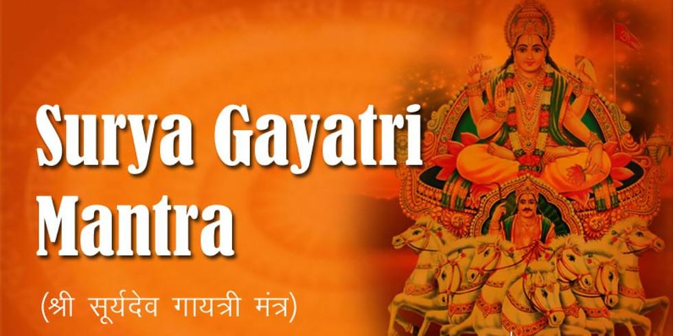 24 hours Akhand Surya Gayatri Chanting