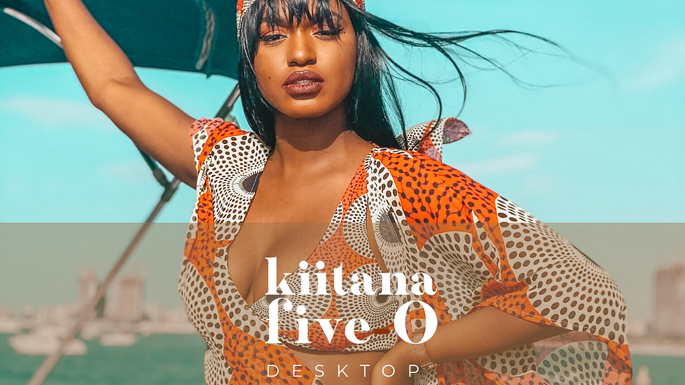 Kiitana Five-O Presets - Desktop