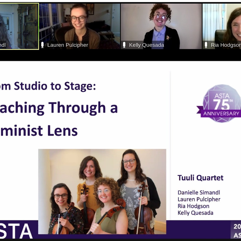 2021 Virtual ASTA National Conference