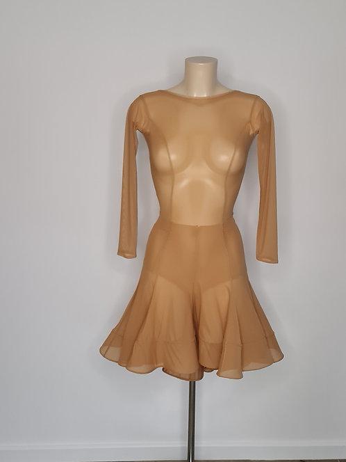 Latin godet skirt sewing pattern Size M-L
