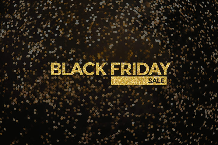 black-friday-sale-golden-glitter-luxury-