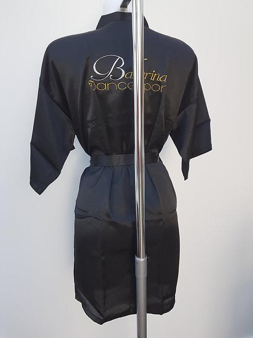 Ballerina dancesport embroidered bathrobe