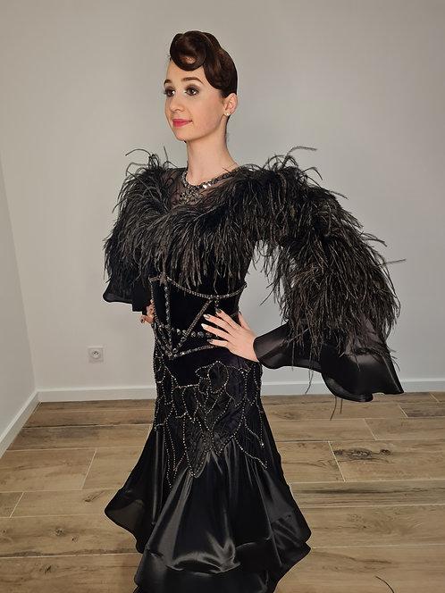 Standard rhinestone dress