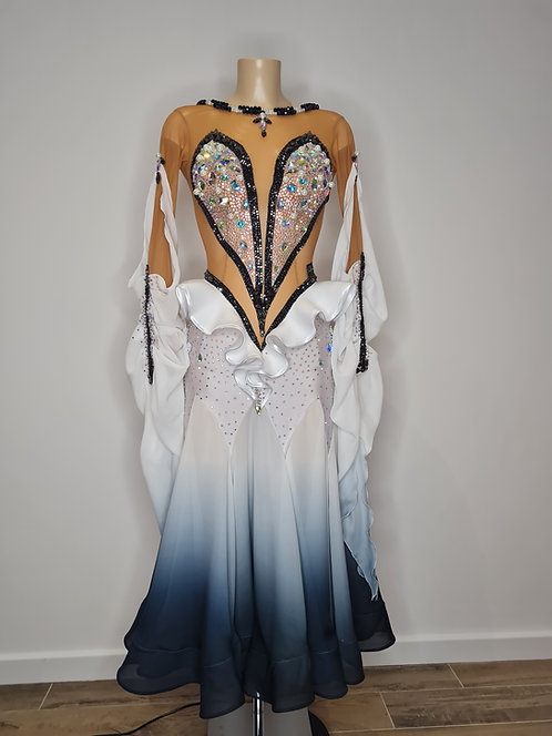 Standard dress with Swarovski rhinestones