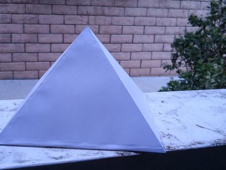 DIY: Giza Pyramid PDF Cut-Out