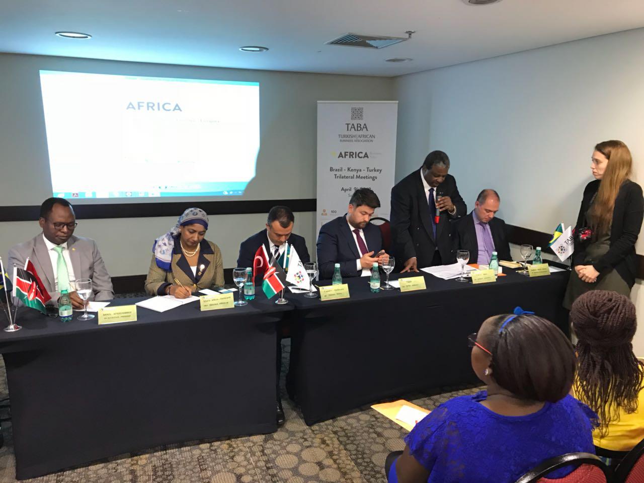 Türkiye-Afrika-Brezilya Üçlü İş Forumu Trilateral TABA (5)