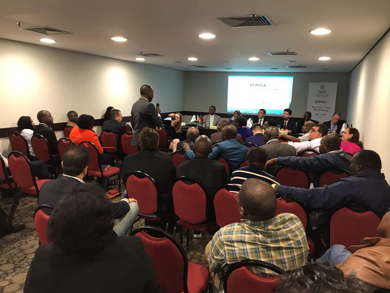Türkiye-Afrika-Brezilya Üçlü İş Forumu Trilateral TABA