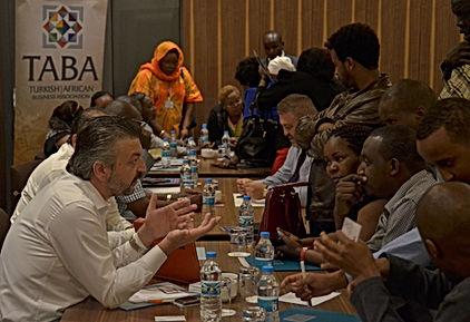 TABA Türk Afrika Turkish African Fatih Akbulut