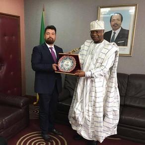 Kamerun Başbakanı TABA Başkanını kabul etti