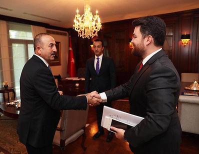 TABA Türk Afrika Turkish African Fatih Akbulut Mevlüt Çavuşoğlu