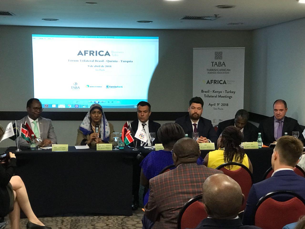 Türkiye-Afrika-Brezilya Üçlü İş Forumu Trilateral TABA (4)