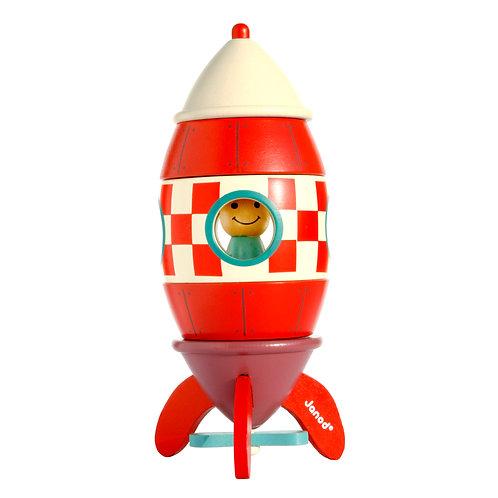 Janod - Magnetbausatz Rakete