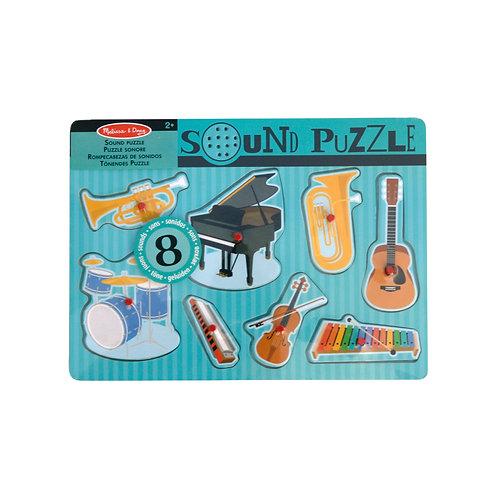 MELISSA & DOUG - Sound Puzzle Instrumente