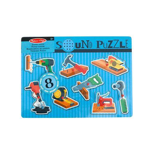 MELISSA & DOUG - Sound Puzzle Werkzeuge
