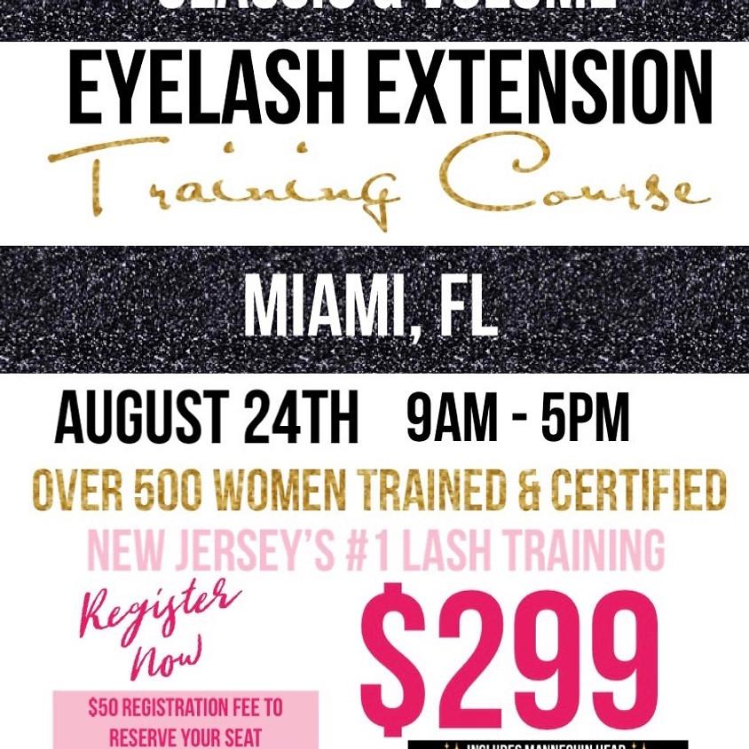 Eyelash Extension Training - Miami, FL