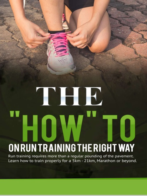 How to Run Train the Right Way