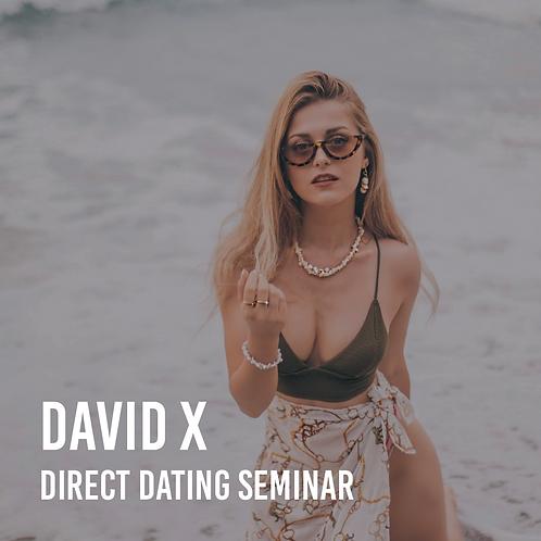 Direct Dating Seminar