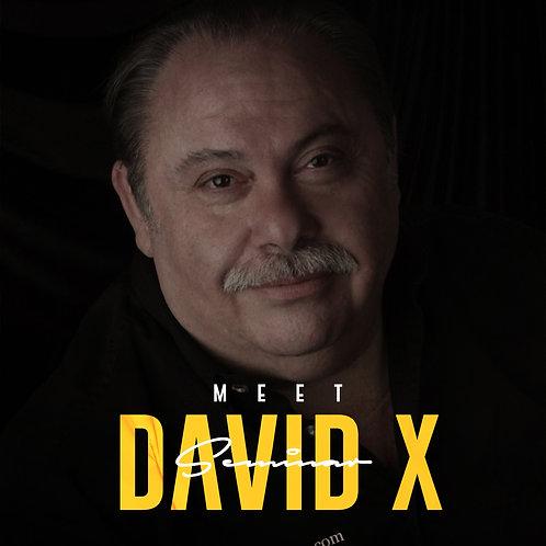 Meet David X Seminar